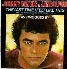 Johnny Mathis-Jane Olivor 45 GIRI The last time i felt like this-As time goes by