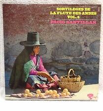 RARE FACIO SANTILLAN Andes Flute Spells Vol 3 vinyl LP record 1972