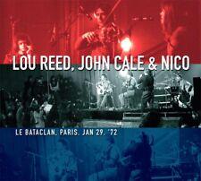 LOU REED, JOHN CALE & NICO - Le Bataclan, Paris, Jan 29, '72. New 2LP + Sealed.