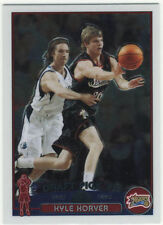 Verzamelkaarten, ruilkaarten 2003-04 UD Glass #61 Rookie Kyle Korver Philadelphia 76ers RC Basketball Card Verzamelkaarten: sport
