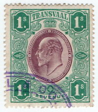 (I.B) Transvaal Revenue : Duty Stamp 1/-