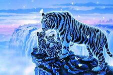 Epoch Jigsaw Puzzle 1500 Small Pieces Tiger 15-070