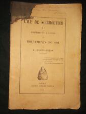 L'Ile de Noirmoutier - Charier-Fillon 1888 - Mouvements du sol - EA Clémenceau