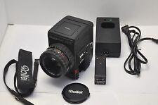 Rolleiflex 6002 Medium Format Professional Film Camera w/ 80mm F/2.8 Rolleigon