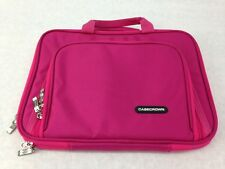 "Case Crown Cloth Zip Up Carrying Case For Laptops, Netbooks, 12"" Pink"