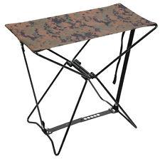 Woodland Digital Camo Lightweight Portable Chair Folding Camp Stool Rothco 4547