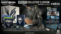 Ghost Recon Breakpoint Wolves Collector's Edition PS4 + Cole Statue UBI