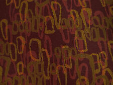 Raspberry Red Pebble Droplet Woven Crypton Upholstery Fabric 0444847 By The Yard