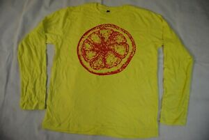 STONE ROSES LEMON LONG SLEEVE T SHIRT NEW OFFICIAL MADE OF ELEPHANT FOOLS GOLD