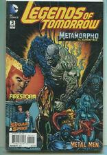 "Legends Of Tomorrrow #2 Nm ""Metamorpho-The Element Man"" Dc Comics Cbx1J"