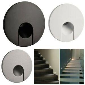 Schrittmacher Vertieft LED 4W Strahler Runder Kreis Lichter Treppenstufen Stufen