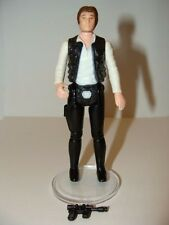 Han Solo Small Head  Loose Complete C8.5 REPRO Weapon   Star Wars  Vintage DD