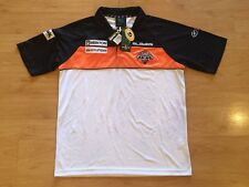 WESTS TIGERS 2011 PLAYER ISSUED PRESEASON NRL POLO SHIRT JERSEY MEDIUM