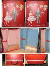 Barbie & Ken Red Vinyl Trunk Case Party Date