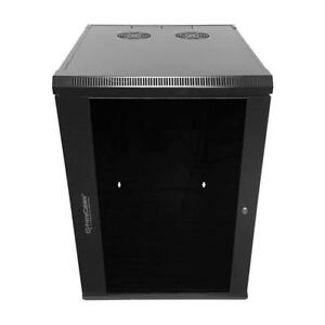 PrimeCables® 12U Wall-Mounted Network Server Data Cabinet