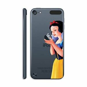 iPod Touch 5th 6th & 7th Gen - Hard Clear Back Protector Cover Case Snow White