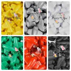 4 For 3 Plane Pony Beads 6x 25mm Craft