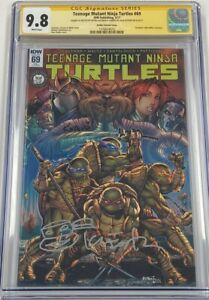 Teenage Mutant Ninja Turtles TMNT #69 Signed & Sketched Kevin Eastman CGC 9.8 SS