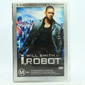 I, Robot 2-Disc DVD Collectors 2004 Will Smith Good Condition Free Tracked Post