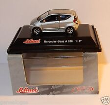 MICRO METAL DIE CAST SCHUCO HO 1/87 MERCEDES-BENZ A 200 GRISE IN BOX