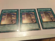 YuGiOh Card - 3x Gravekeeper's Stele ABPF-EN056