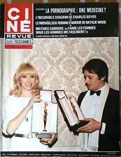 Ciné Télé Revue 3/2/1977; Charles Boyer/ Nathalie Wood/ Mathieu Carriere/ Geret