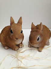Baby Rabbits Vivid Arts Garden Ornaments Set of 2 £9.99