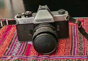 ROLLEIFLEX SL35, MADE IN GERMANY, MACCHINA FOTOGRAFICA ANALOGICA FUNZIONANTE