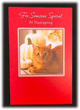 AGC Cat Lovers For Someone Special At Thanksgiving Gift For Being Kind Card