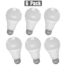6x 100W Equivalent LED Light Bulb A19 Warm Soft White 3000K Replacement 12W Lamp