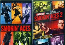 SMOKIN' ACES 1+2: Assassins Ball- All Star Cast- Widescreen-  NEW 2 DVD
