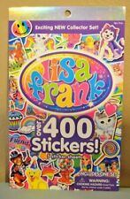 2 Lisa Frank Sticker Books with Over 800 Stickers - 10 Sheets Collector Sets NEW