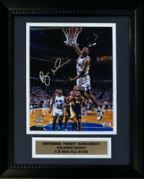 Anfernee Penny Hardaway Autographed Magic 8x10 Framed 8x10 Photo Fanatics COA
