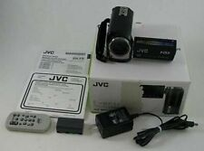 A JVC Everio G Series GZ MG360 BU Hybrid Camcorder HDD