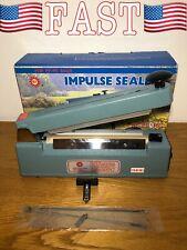 "SealerSales KF-205HC 8"" Heat & Bag Sealer w/Cutter & 5mm Seal from ABC Office"