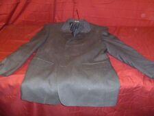 ADOLFO Men's 42 L Blazer Blue Silk Wool Sport Coat Suit Jacket lined nice 20434