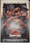 Jurassic Park Movie Poster John Guydo Screen Print 2019 Numbered /325 T-Rex Rare