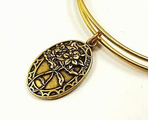 ALEX and ANI Rafaelian Gold Friend  Wrap Bracelet w/Charms
