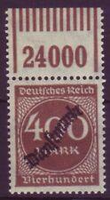 Dt. Reich Dienst D 80 mit Oberrand 400 M postfrisch