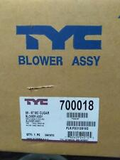 TYC 700018 New Blower Motor With Wheel