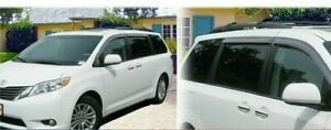 For Toyota SIENNA 2011-2020 window visor sun guard rain deflector vent shade
