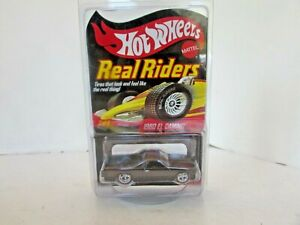 MATTEL 9098 HOT WHEELS REAL RIDERS 1980 EL CAMINO LTD ED DIECAST CAR  NEW LotD