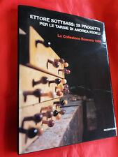 LIBRO -  ETTORE SOTTSASS: 28 progetti per le tarsie di Andrea Fedeli - Mazzotta,