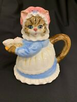 Heritage Mint Ltd Collectibles Mama Kitty Cat Decorative Teapot