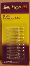 Light Keeper Pro Clear Mini Replacement Bulbs 2.5 Volt 10-count