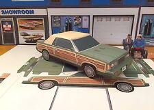 Papercraft EZU-Make-it PLANES TRAINS & AUTOMOBILES Chrysler LeBaron MOVIE CAR