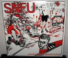 SNFU And No One Else Wanted To Play LP PUNK ROCK Hardcore DOA Asexuals SUBHUMANS