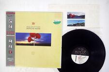 DEPECHE MODE MUSIC FOR THE MASSES MUTE ALI-28070 Japan OBI VINYL LP