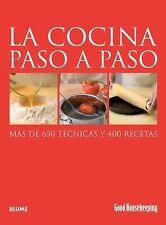 La cocina paso a paso: Más de 650 técnicas y 400 recetas (Good-ExLibrary