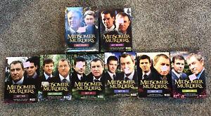 UK Crime Series MidSomer Murders Box Sets DVD Lot Sets 4,7,10,12,13,15,18,19